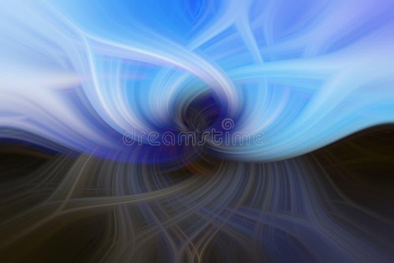 μπλε στρόβιλος απεικόνιση αποθεμάτων