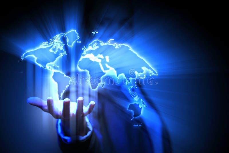 Παγκόσμιο επιχειρησιακό δίκτυο στοκ εικόνες