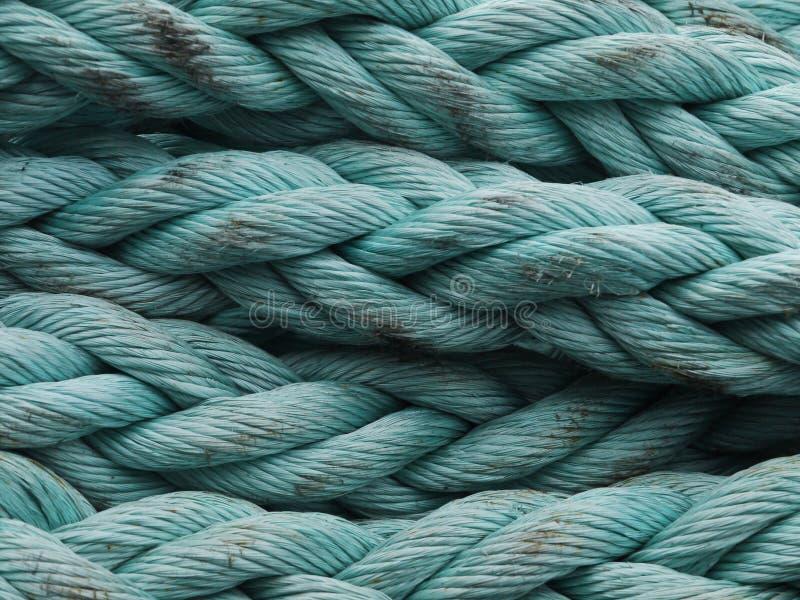 Μπλε σχοινί στοκ φωτογραφίες με δικαίωμα ελεύθερης χρήσης
