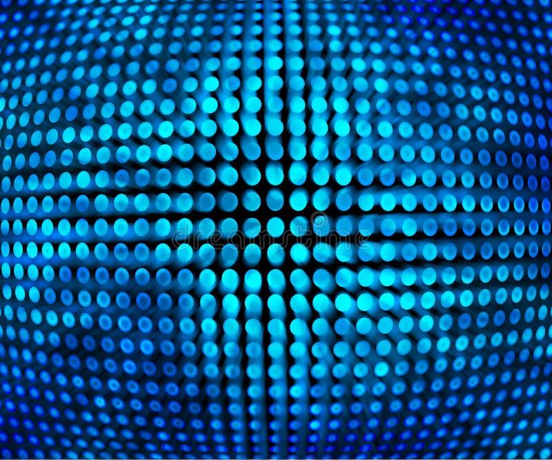 Μπλε σύσταση υποβάθρου Disco διανυσματική απεικόνιση