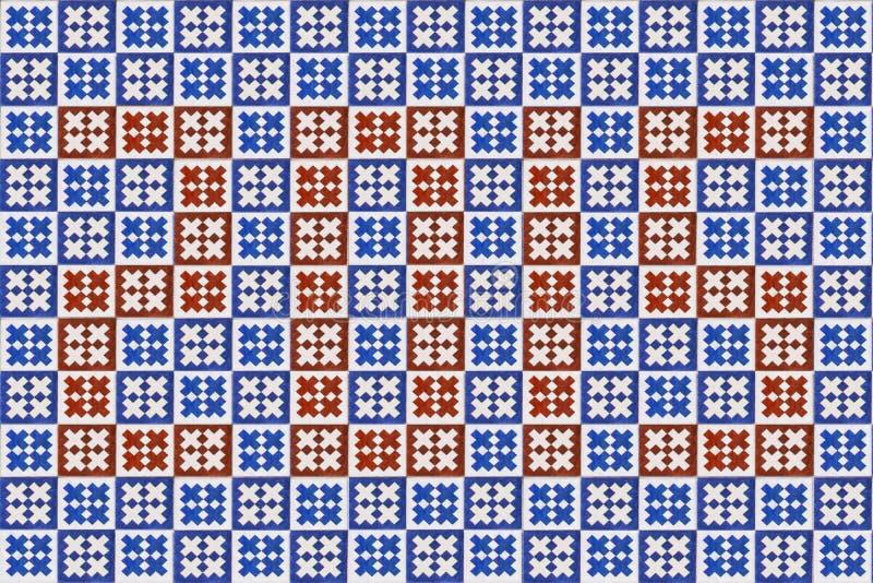 Μπλε σύσταση azulejo μωσαϊκών στη Λισσαβώνα στοκ φωτογραφία με δικαίωμα ελεύθερης χρήσης