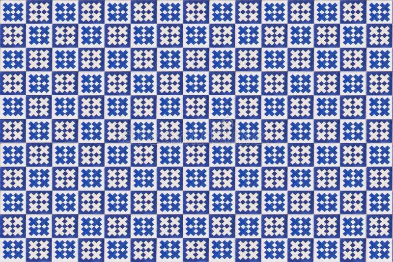 Μπλε σύσταση azulejo μωσαϊκών στη Λισσαβώνα στοκ φωτογραφίες
