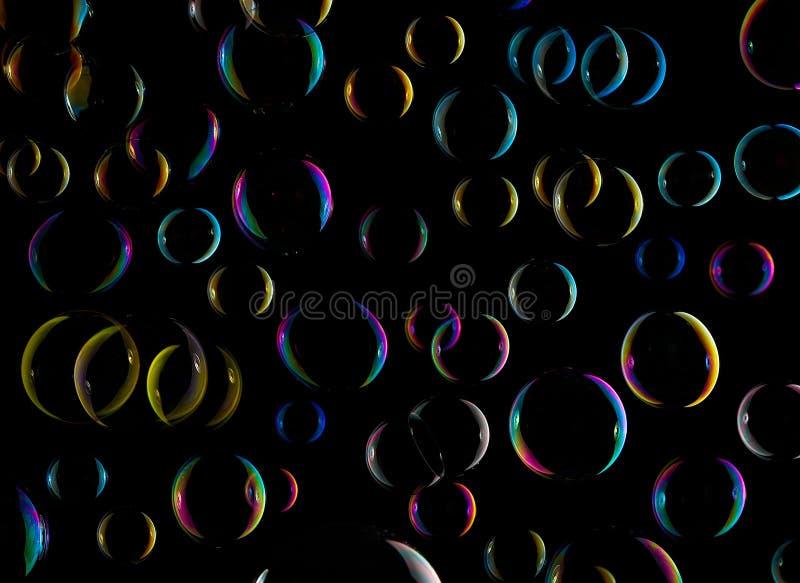 μπλε τονικότητα δομών σαπουνιών φυσαλίδων XXL στοκ φωτογραφία με δικαίωμα ελεύθερης χρήσης
