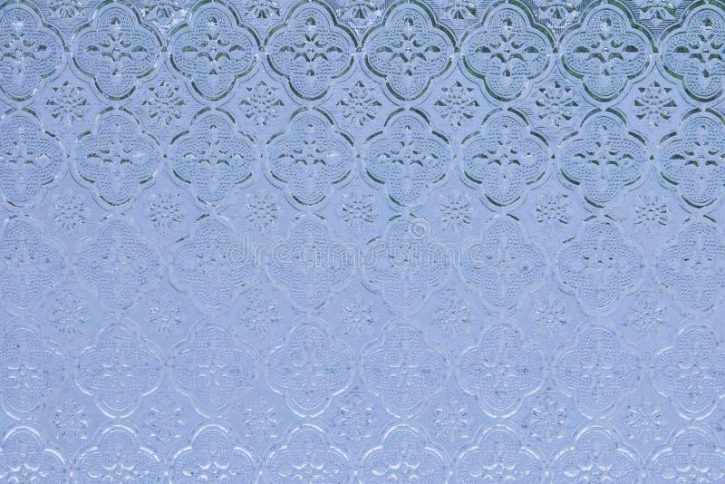 Μπλε του λεκιασμένου γυαλιού στοκ εικόνες με δικαίωμα ελεύθερης χρήσης