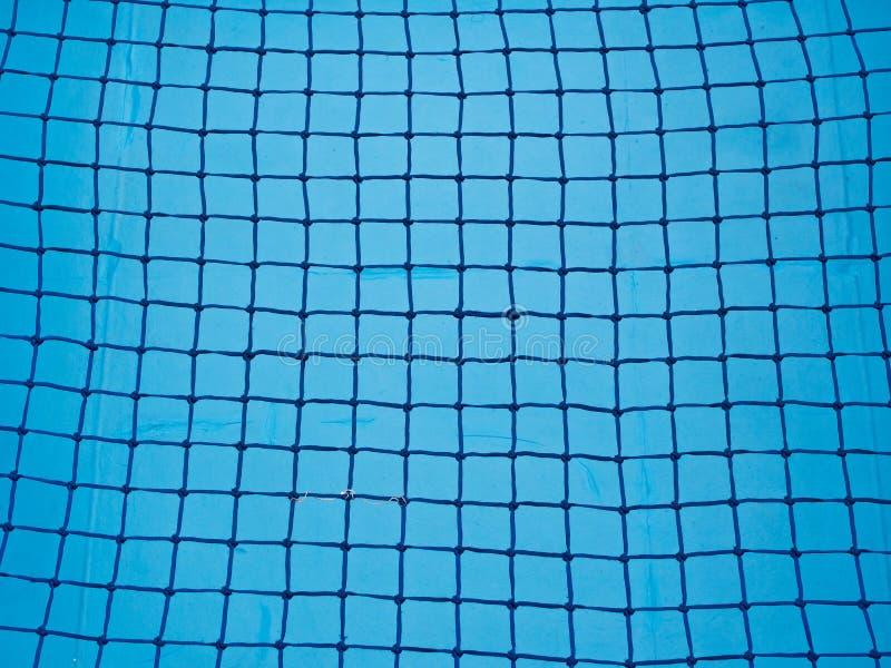 Μπλε υπόβαθρο δικτύου στοκ εικόνες