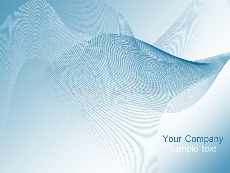 Μπλε υπόβαθρο κυμάτων ελεύθερη απεικόνιση δικαιώματος