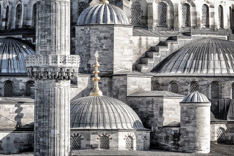 Μπλε υπόβαθρο μουσουλμανικών τεμενών στοκ εικόνες με δικαίωμα ελεύθερης χρήσης