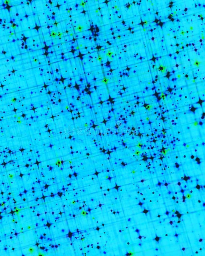 Μπλε υπόβαθρο ουρανού χίπηδων αστεριών στοκ φωτογραφία με δικαίωμα ελεύθερης χρήσης