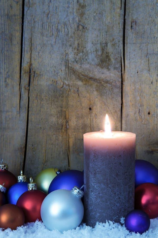 Μπλε φιλτραρισμένη διακόσμηση Χριστουγέννων στοκ φωτογραφίες με δικαίωμα ελεύθερης χρήσης