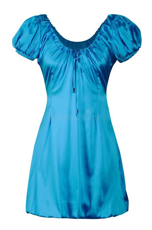 μπλε φόρεμα maike στοκ εικόνα με δικαίωμα ελεύθερης χρήσης