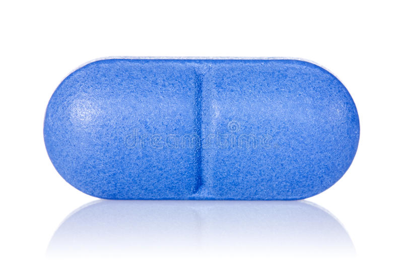 Μπλε χάπι στοκ εικόνες με δικαίωμα ελεύθερης χρήσης