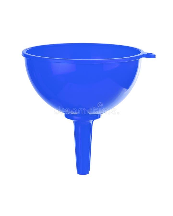 μπλε χοάνη στοκ φωτογραφία με δικαίωμα ελεύθερης χρήσης