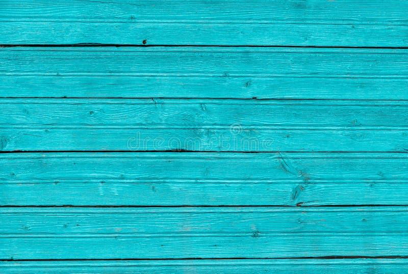 Μπλε χρωματισμένος ξύλινος πίνακας μεντών, υπόβαθρο σύστασης στοκ εικόνες με δικαίωμα ελεύθερης χρήσης