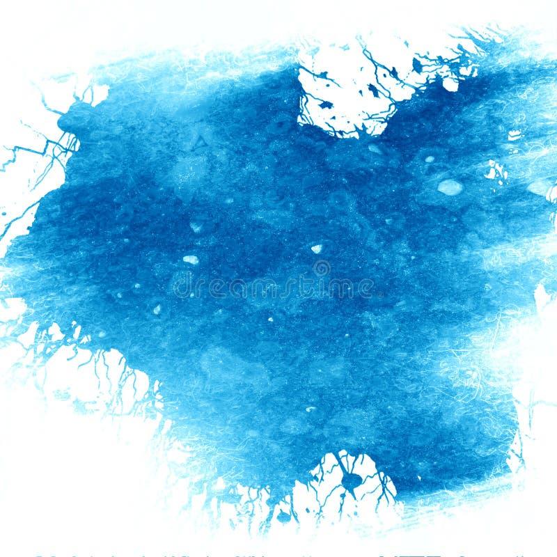 Μπλε χρώμα ελεύθερη απεικόνιση δικαιώματος