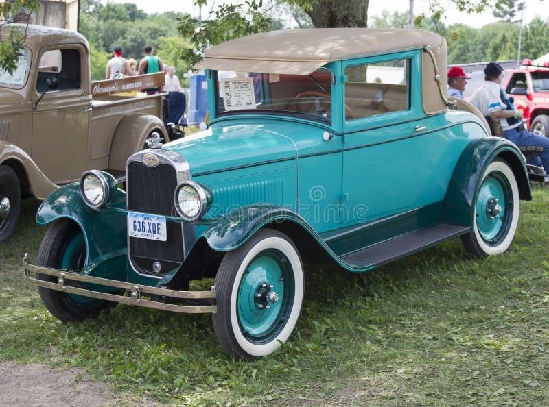 1929 μπλε Chevy Coupe στοκ εικόνες με δικαίωμα ελεύθερης χρήσης