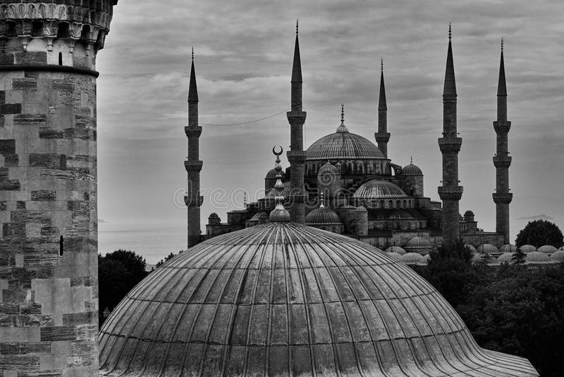 Μπλε Mosk στη Ιστανμπούλ στοκ εικόνες