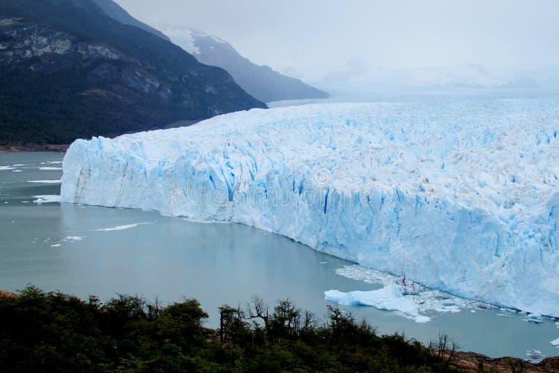 Μπλε patagonian παγετώνας πάγου στοκ φωτογραφία με δικαίωμα ελεύθερης χρήσης