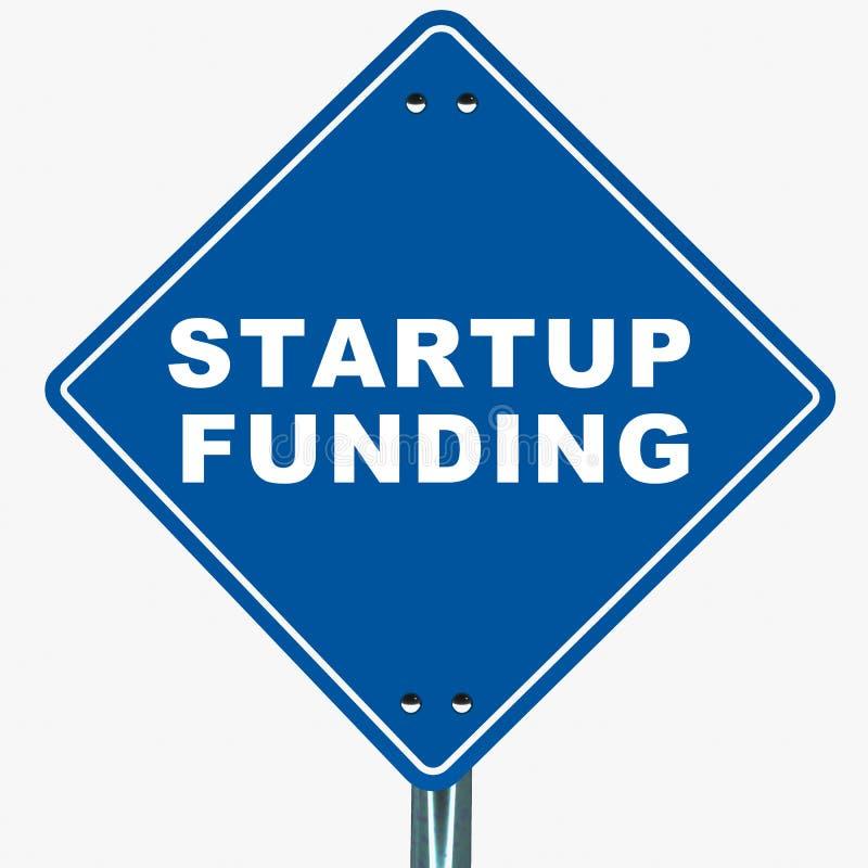 Χρηματοδότηση ξεκινήματος διανυσματική απεικόνιση