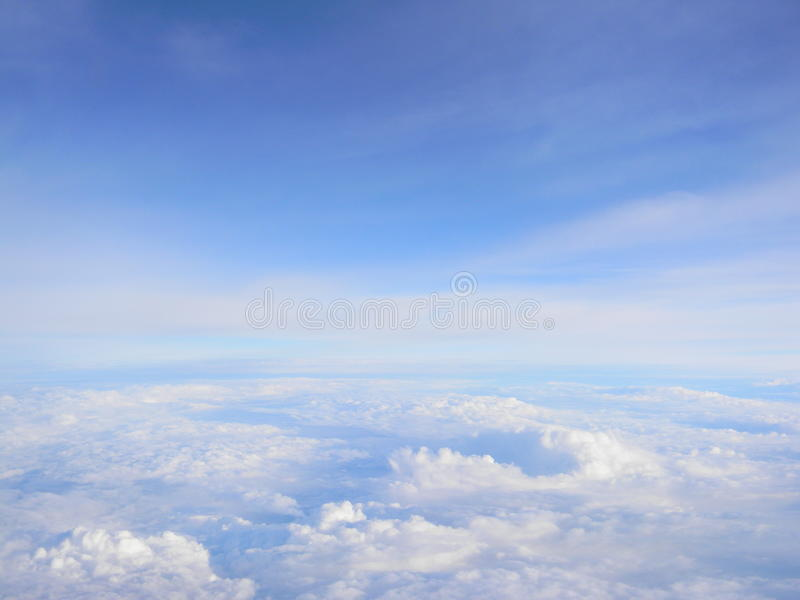 Μπλε skys στοκ εικόνα