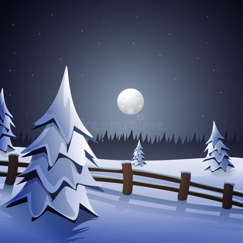 μπλε snowflakes ανασκόπησης άσπρος χειμώνας ελεύθερη απεικόνιση δικαιώματος