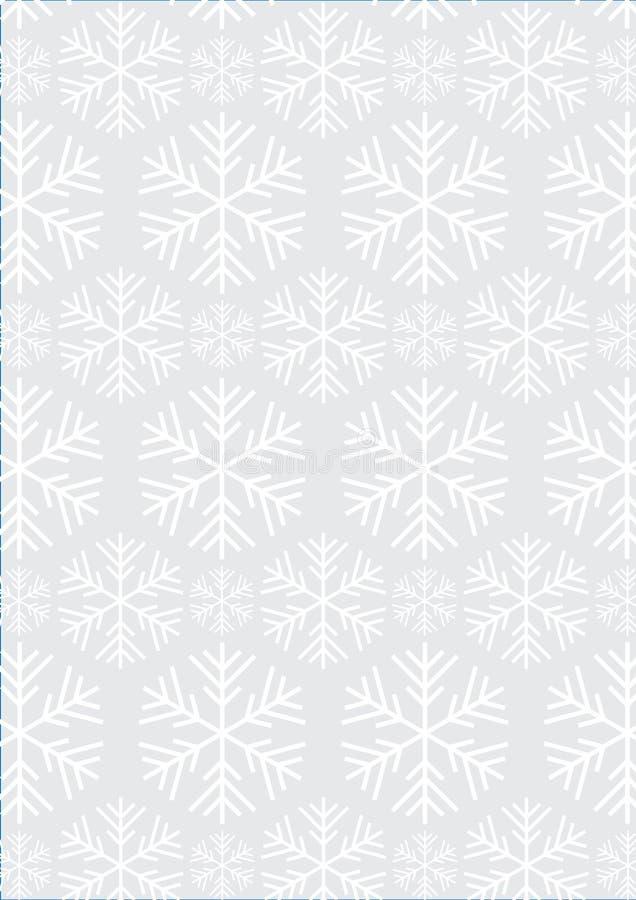 μπλε snowflakes ανασκόπησης άσπρος χειμώνας στοκ εικόνες με δικαίωμα ελεύθερης χρήσης