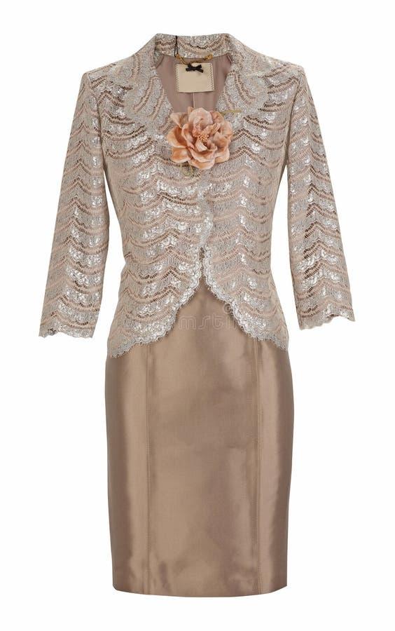 Μπλούζα και φόρεμα μεταξιού στοκ εικόνα