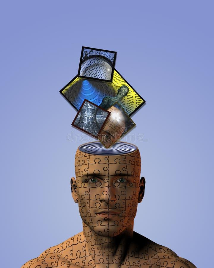 μυαλό εικόνας ελεύθερη απεικόνιση δικαιώματος