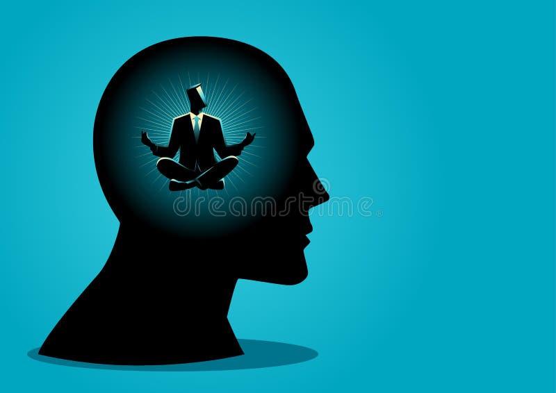 μυαλό ειρηνικό ελεύθερη απεικόνιση δικαιώματος
