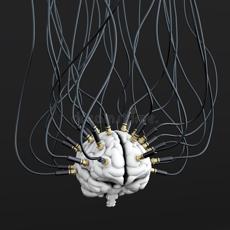 μυαλό ελέγχου απεικόνιση αποθεμάτων