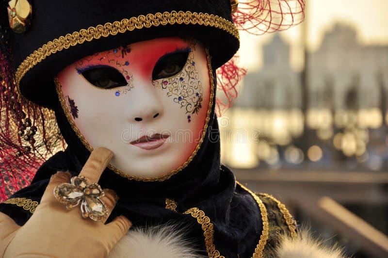 Μυθική μάσκα στο καρναβάλι στη Βενετία στοκ φωτογραφία με δικαίωμα ελεύθερης χρήσης