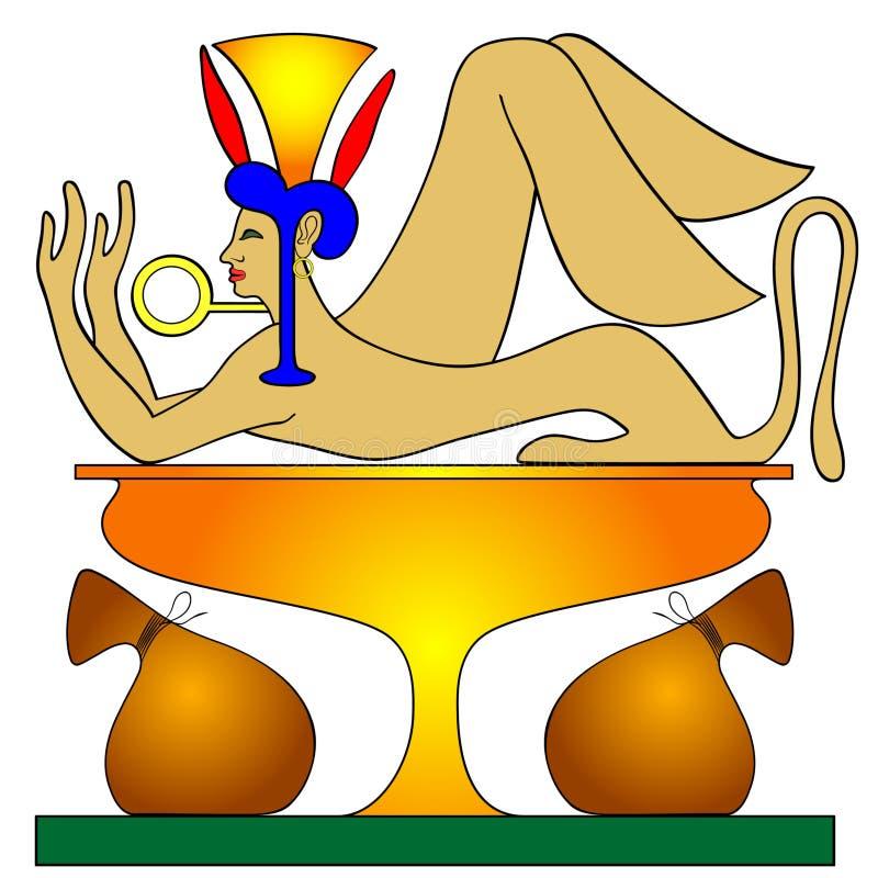 μυθικός ταμίας πλασμάτων διανυσματική απεικόνιση