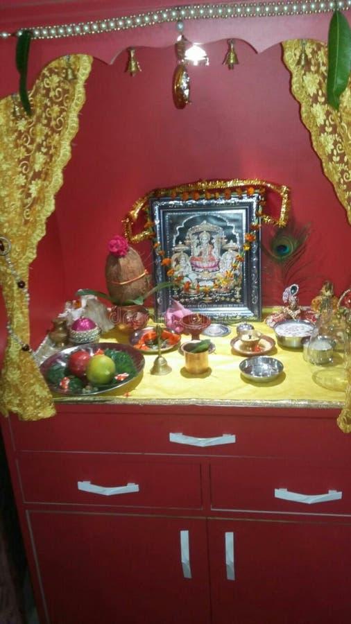 Μυθολογικός ναός Θεών στοκ εικόνα με δικαίωμα ελεύθερης χρήσης