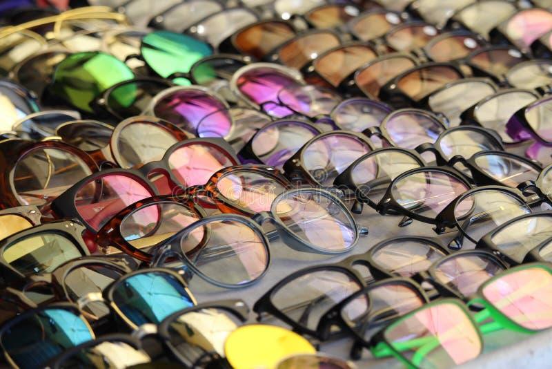 Μυριάδα των γυαλιών για την πώληση στοκ φωτογραφία με δικαίωμα ελεύθερης χρήσης