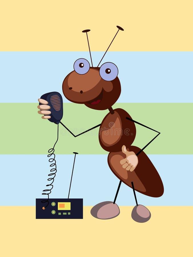μυρμήγκι signaller στοκ εικόνες με δικαίωμα ελεύθερης χρήσης