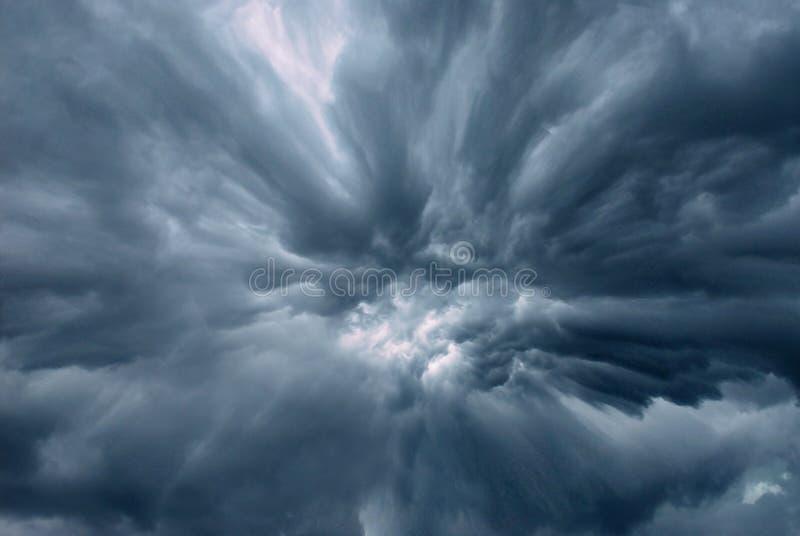 μυστήριο σύννεφων στοκ εικόνα