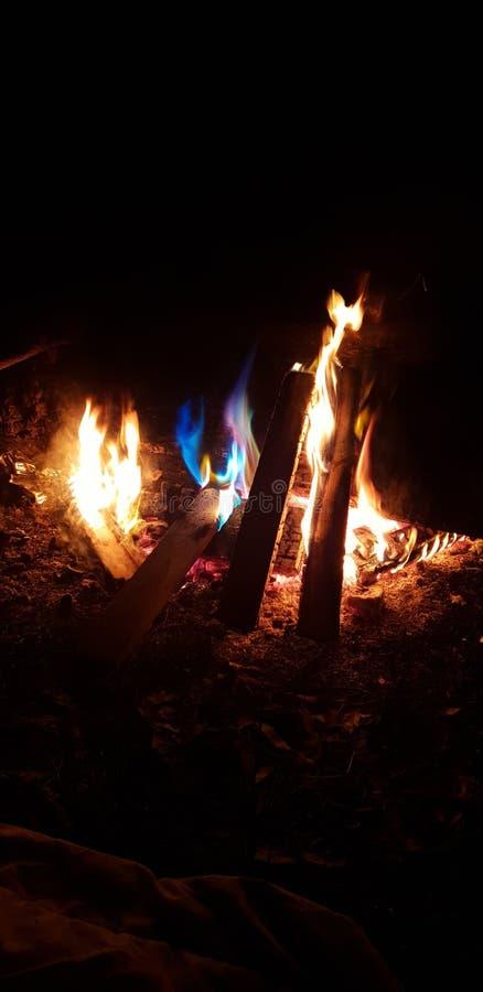Μυστική πυρκαγιά στοκ εικόνες