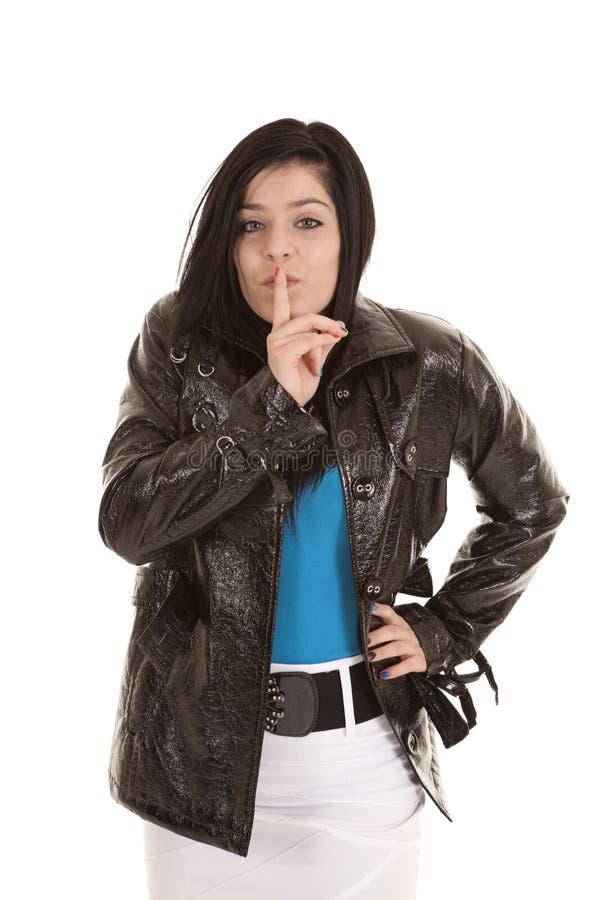 μυστικός έφηβος σακακιών στοκ εικόνα με δικαίωμα ελεύθερης χρήσης