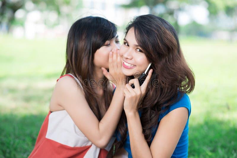 Μυστικό για έναν φίλο στοκ εικόνες