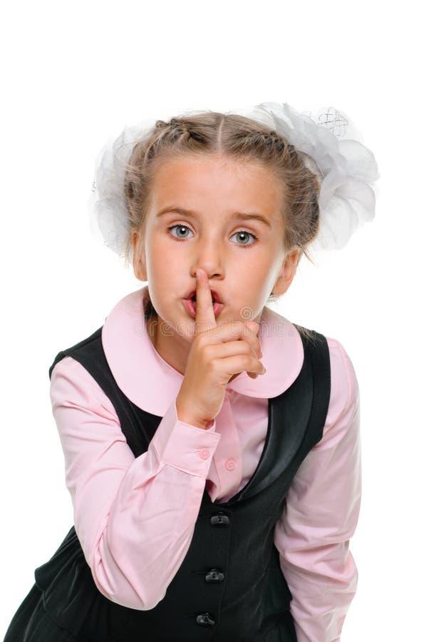 Μυστικό μαθητριών στοκ εικόνες
