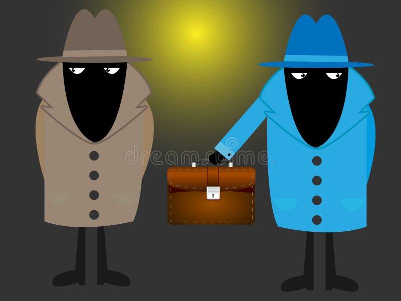 μυστικό πρακτόρων απεικόνιση αποθεμάτων