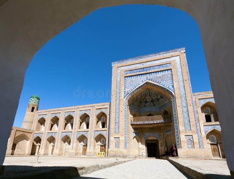 Μωάμεθ Rakhim Khan Medressa - Khiva στοκ εικόνες