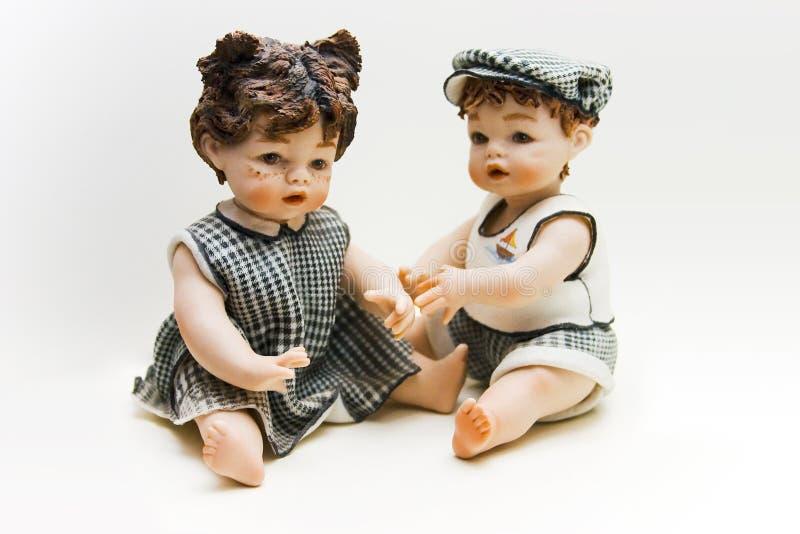 μωρά δύο στοκ φωτογραφία με δικαίωμα ελεύθερης χρήσης