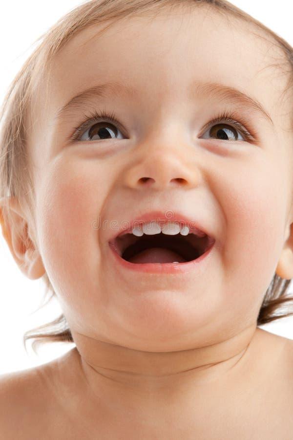 μωρό ευτυχές στοκ εικόνες