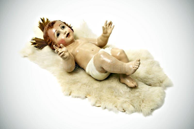 μωρό Ιησούς στοκ φωτογραφίες
