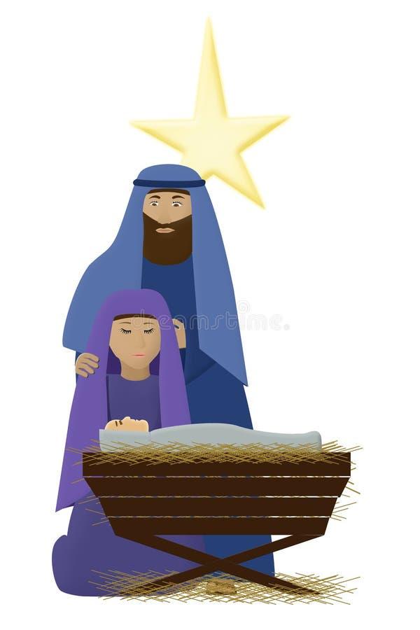 μωρό Ιησούς διανυσματική απεικόνιση