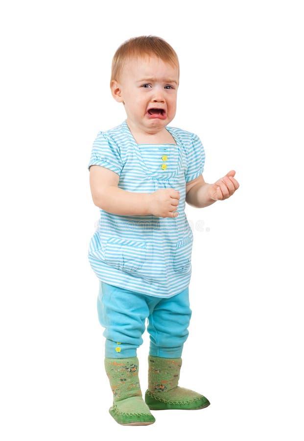 μωρό λυπημένο στοκ φωτογραφίες