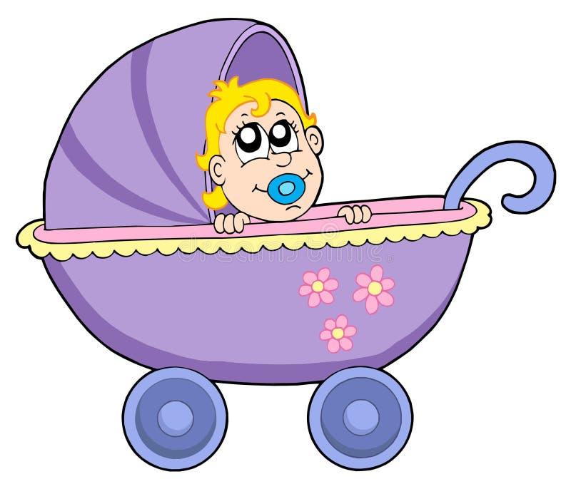 μωρό με λάθη διανυσματική απεικόνιση