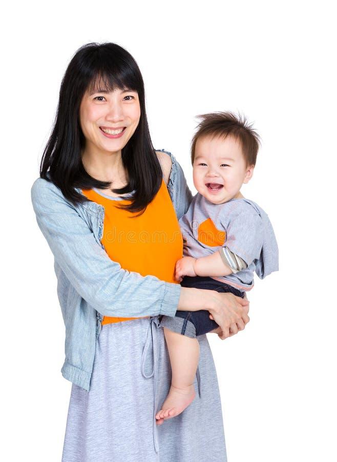 μωρό ο γιος μητέρων της στοκ φωτογραφίες