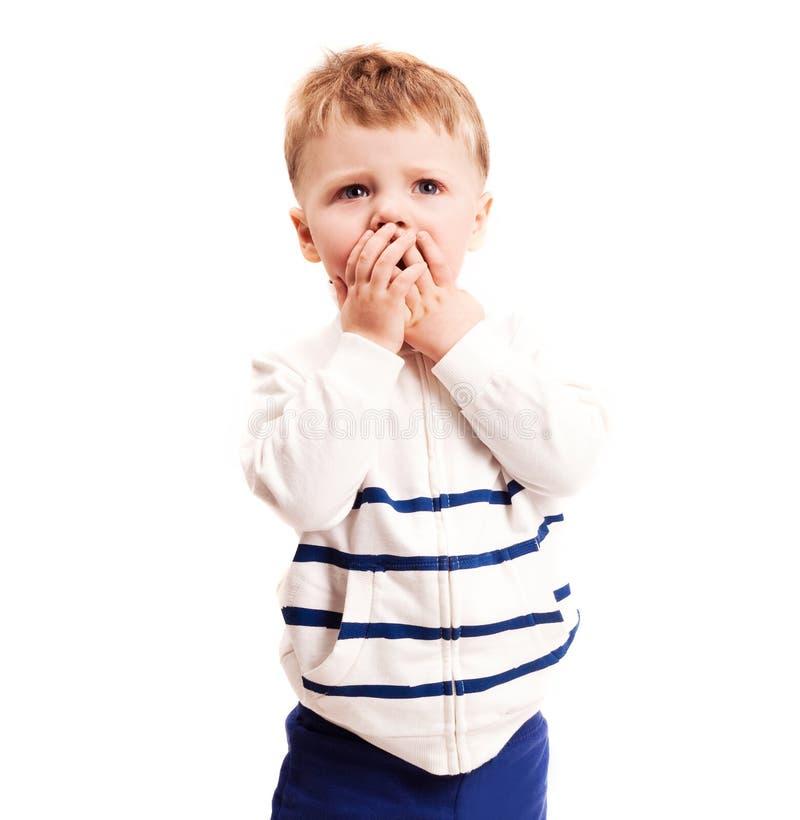 μωρό που φοβάται στοκ εικόνες