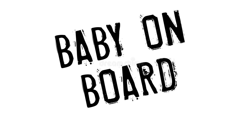 Μωρό στη σφραγίδα ελεύθερη απεικόνιση δικαιώματος